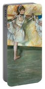 Dancers At The Bar Portable Battery Charger by Edgar Degas
