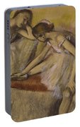 Dancers In Repose Portable Battery Charger