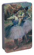 Dancers In Violet  Portable Battery Charger