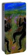Dancing A Deliverance Prayer Portable Battery Charger