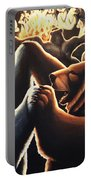 Dancing Bears Painting Portable Battery Charger