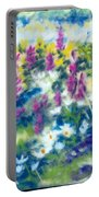 Dancing Daisies Portable Battery Charger