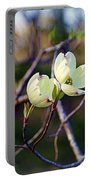 Dancing Dogwood Blooms Portable Battery Charger