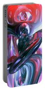 Dancing Hallucination Abstract Portable Battery Charger