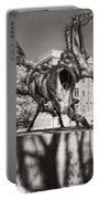 Dancing Horses Noir Portable Battery Charger