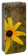 Dancing In The Rain Print Portable Battery Charger