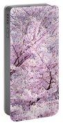 Dancing Sakura Haiku Portable Battery Charger