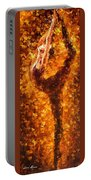 Dancing Twist - Palette Knife Oil Painting On Canvas By Leonid Afremov Portable Battery Charger
