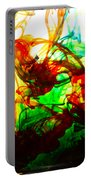 Dancing Water Colors Portable Battery Charger