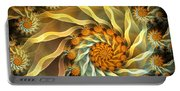 Dancing With Daisies Portable Battery Charger