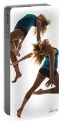 Dancing With Myself Portable Battery Charger