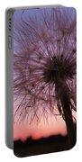 Dandelion Sunset Portable Battery Charger