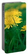 Dandelions Portable Battery Charger