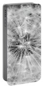 Dandylion Black And White Portable Battery Charger