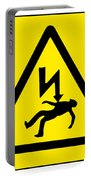 Danger Electricity Portable Battery Charger