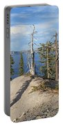 Dangerous Slope At Crater Lake Portable Battery Charger