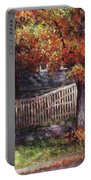 Dappled Fence Portable Battery Charger