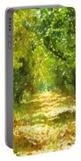 Dappled Light Of Daydreams Portable Battery Charger