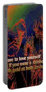 Dare To Love Yourself On National Selfie Day Portable Battery Charger