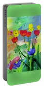 Daria's Flowers Portable Battery Charger