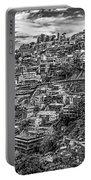 Darjeeling Monochrome Portable Battery Charger