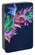 Dark Bouquet Portable Battery Charger