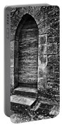 Dark Secret Behind The Medieval Door Portable Battery Charger by Silva Wischeropp