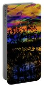 Dark Shadowy Sunset Portable Battery Charger
