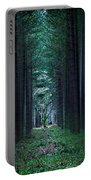 Dark Side Of Forest Portable Battery Charger