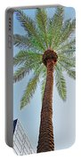 Date Palm In The City Portable Battery Charger