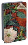 Datura Flower Portable Battery Charger