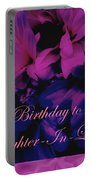 Daughter-in-law Birthday Card        Chrysanthemum Portable Battery Charger