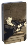Daumier: Advocate, 1860 Portable Battery Charger