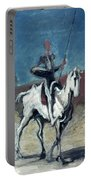 Daumier: Quixote, 19th C Portable Battery Charger