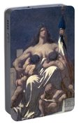 Daumier: Republic, 1848 Portable Battery Charger