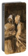Daumier: Virgin & Child Portable Battery Charger