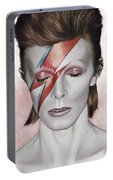 David Bowie Artwork 1 Portable Battery Charger