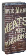 David Mann - Meats And Provisions Portable Battery Charger