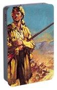 Davy Crockett  Hero Of The Alamo Portable Battery Charger