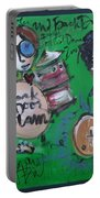 Davy Knowles And Back Door Slam Portable Battery Charger by Laurie Maves ART