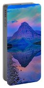 Dawn At Two Medicine Lake Portable Battery Charger