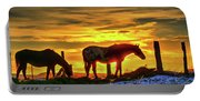 Dawn Horses Portable Battery Charger