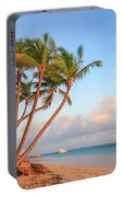 Dawn In Punta Cana Portable Battery Charger