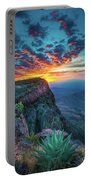 Dawn In The Chisos Portable Battery Charger