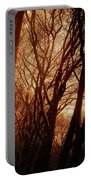 Dawn In The Trees Portable Battery Charger
