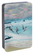 Dawn Pelicans Portable Battery Charger