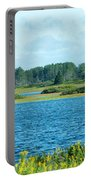 Day At The Wetlands Portable Battery Charger