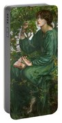 Day Dream Portable Battery Charger by Dante Charles Gabriel Rossetti