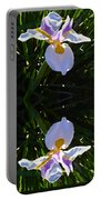 Day Lily Reflection Portable Battery Charger