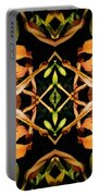Day Lily Square Dance Portable Battery Charger
